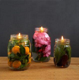 Homemade Mason Jar Oil Lamp