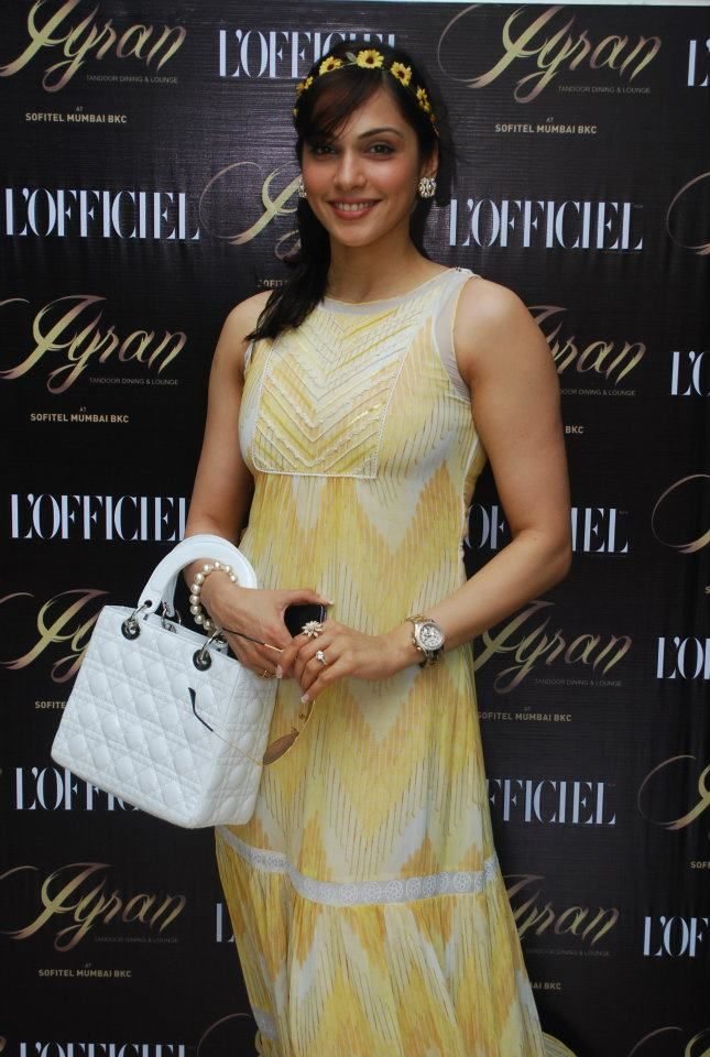 Eesha Kopikar at L'Officiel 10th Anniversary Bash