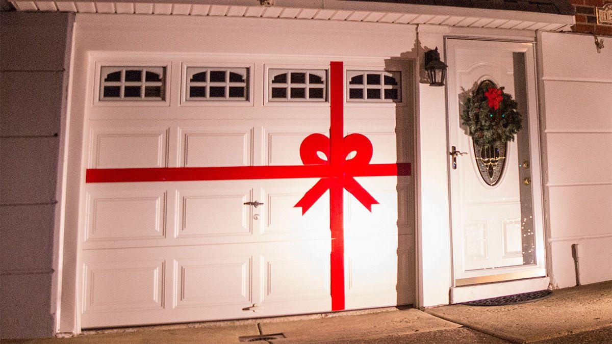 Elegant (8' h x 8' w x 8' w) Double Garage Garage door
