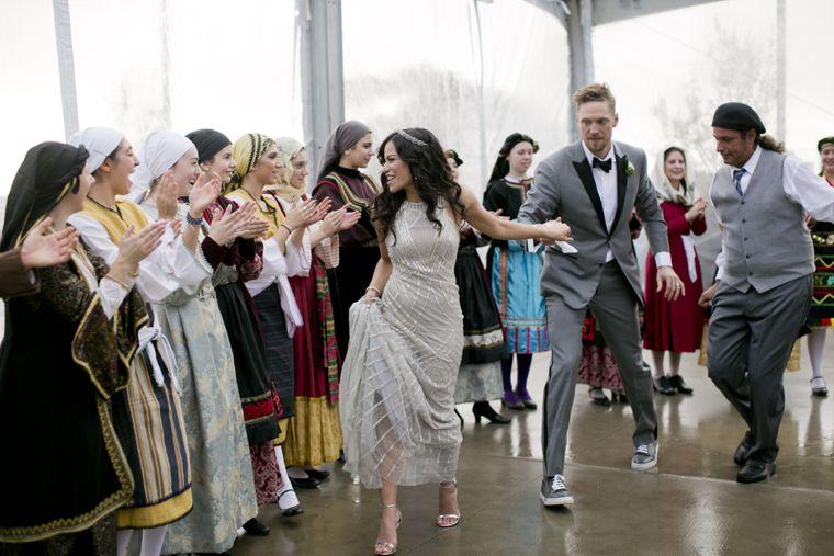 real wedding hunter pence alexis cozombolidis event design