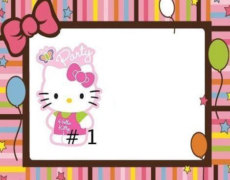 Invitaciones De Cumpleanos De Hello Kitty Para Imprimir