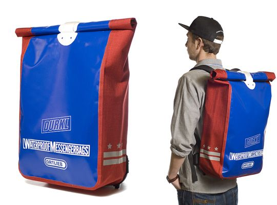 DURKL x ORTLIEB Messenger Backpack | Nice, Messenger backpack and ...