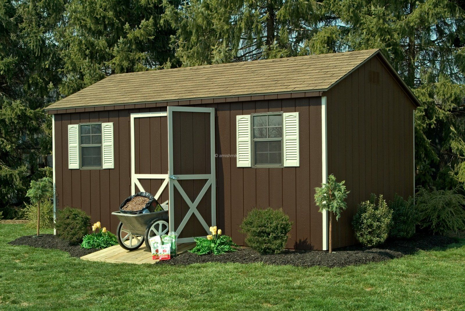 brown shed - Google Search
