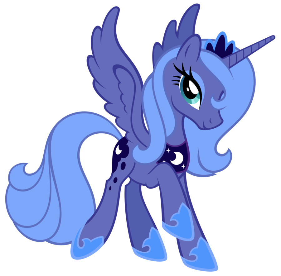 Sweet Luna Princesa Luna Dibujos Kawaii De Animales Imagenes My Little Pony