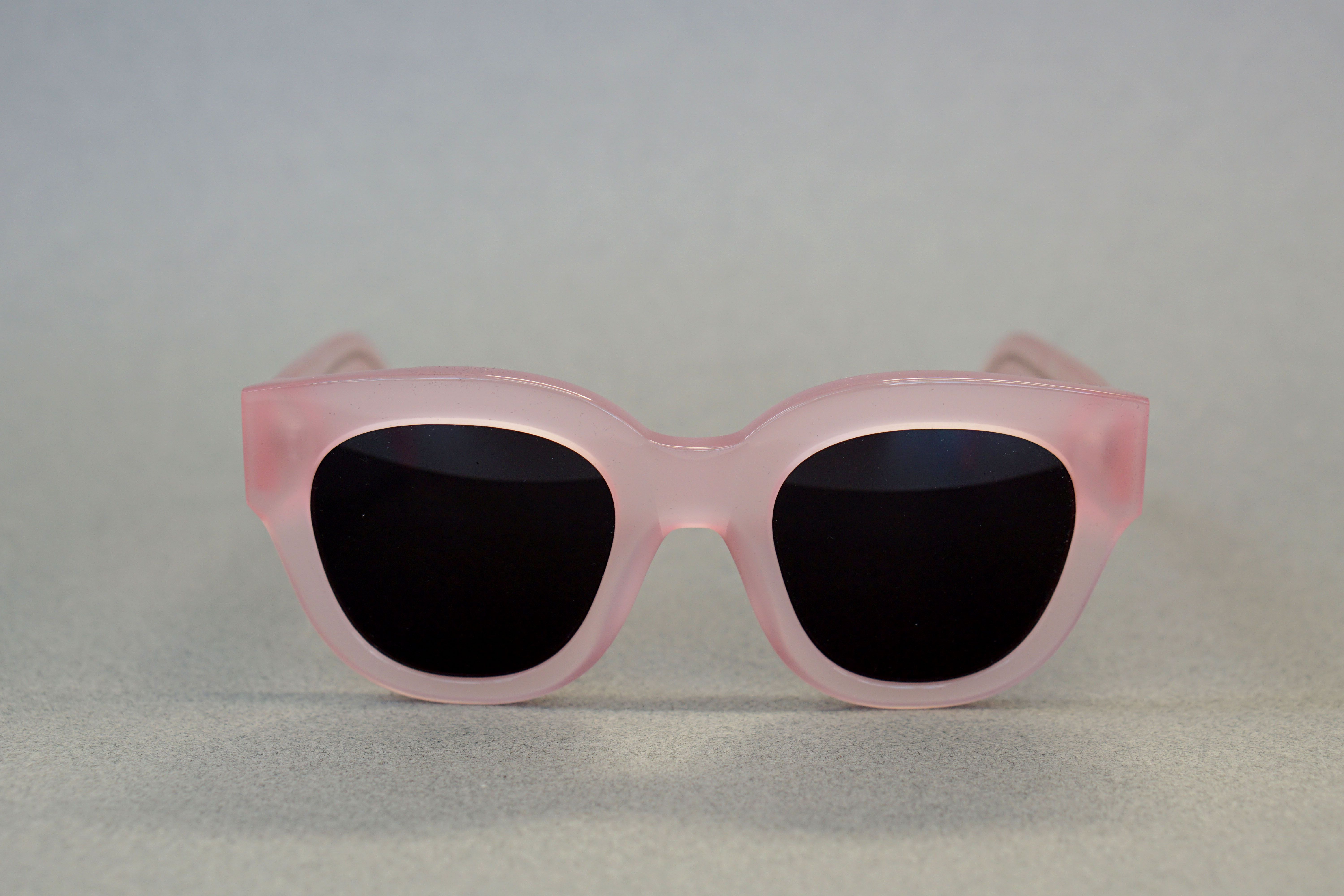 be99332cc8 Monokel Eyewear Cleo Clear Pink by Vamp Vintage Sweden Made by hand from  premium acetate100 UV
