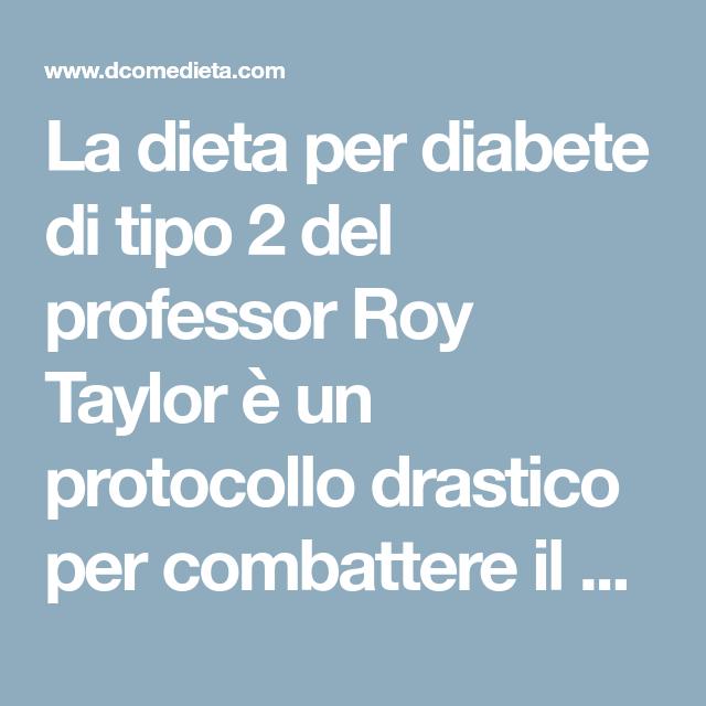dieta sana per il diabete di tipo 2