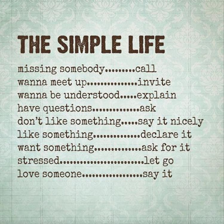 Simple Life Quotes Quotes Of The Day  11 Pics  Quotes  Pinterest  Inspirational