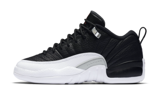 new concept 3d5d3 cfd90 The Air Jordan 12 Low Playoff Is Coming In GS Sizes Too