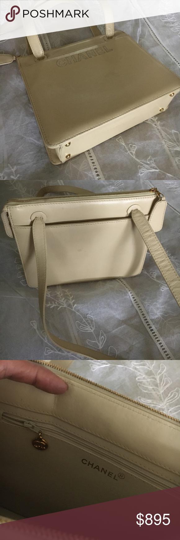 2ac1bb4e984ea1 Spotted while shopping on Poshmark: Vintage Chanel handbag! #poshmark  #fashion #shopping #style #CHANEL #Handbags