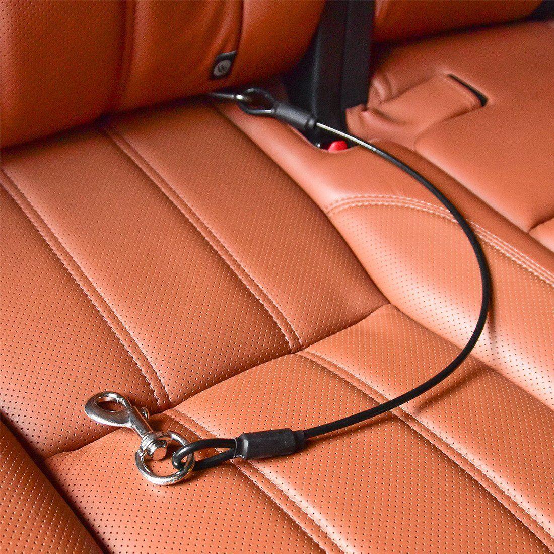 CHEDE Dog Car Seat Belt Restraint NOChew Pet Dog Cat