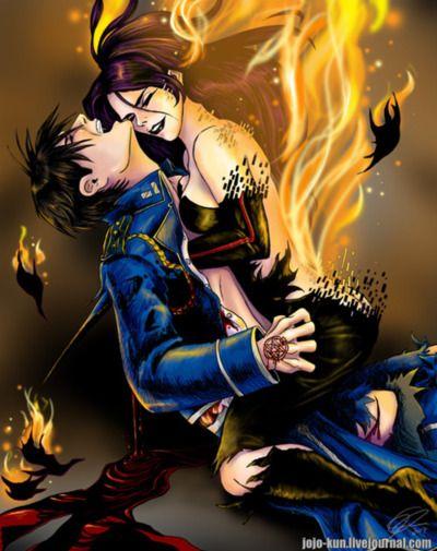 Fullmetal Alchemist Lust Hot