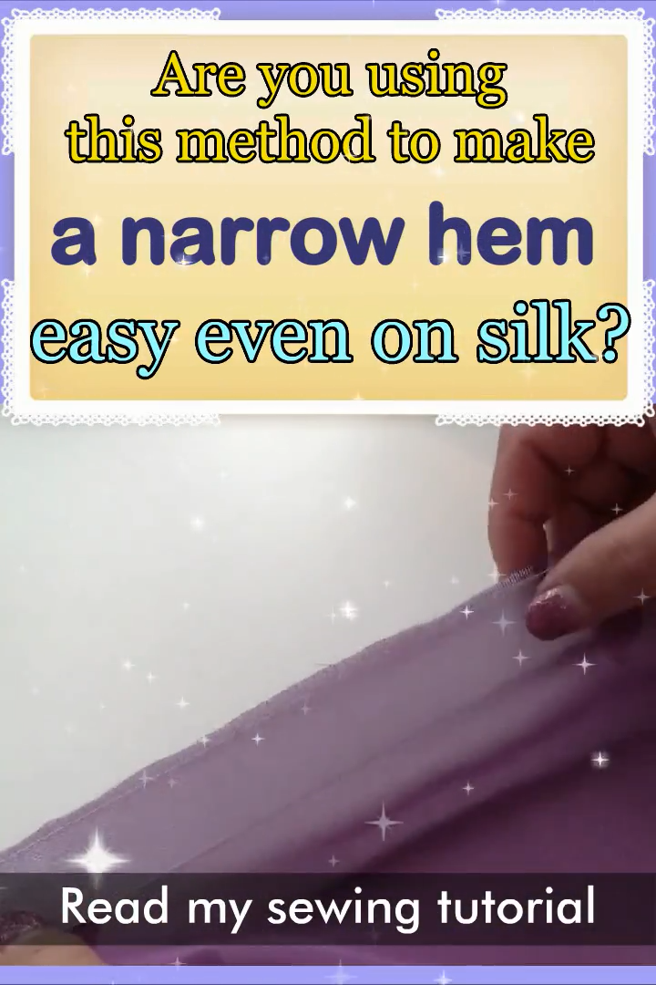 Photo of How to sew a narrow hem