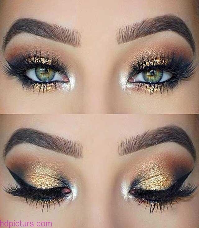 صور عيون جميلة 2017 اجمل عيون زرقاء حلوه اجمل مكياج عيون Pretty Eye Makeup Gold Eye Makeup Gold Eye Makeup Tutorial