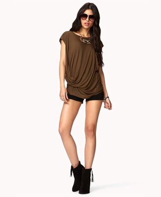Gathered Waist Top   FOREVER 21 - 2046200011