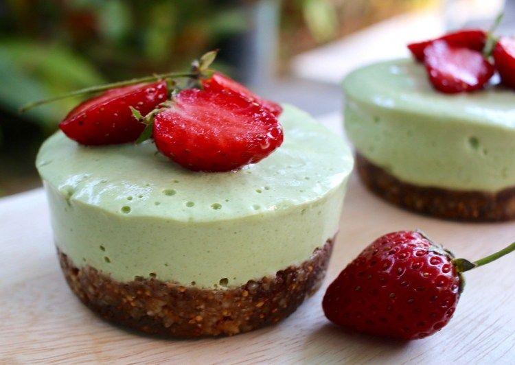 Cheesecakes au the matcha | Recette | Recettes saines et ...