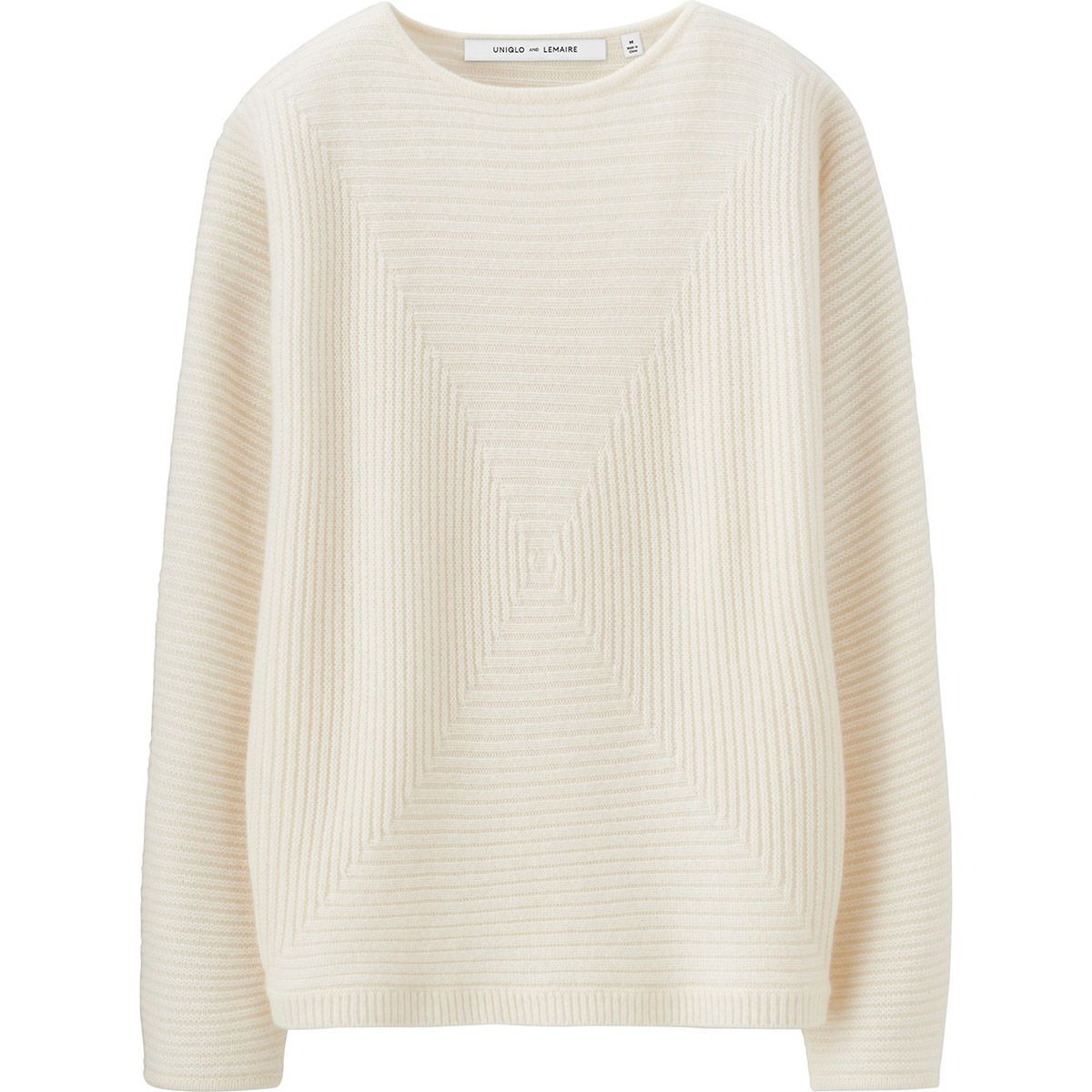 UNIQLO \\ LEMAIRE Cashmere blended square sweater