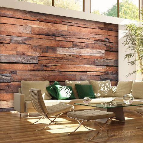 Reclaimed Wood Wall Mural Part 71