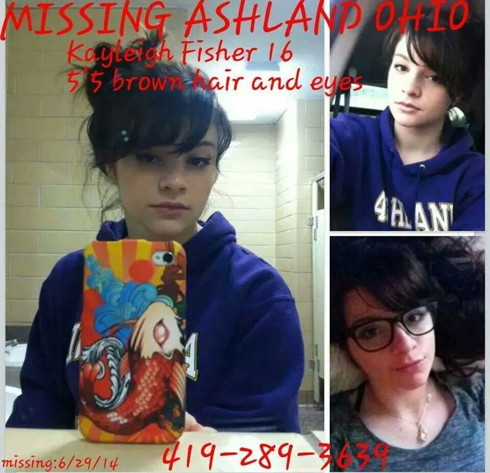 Praying for her Swift & Safe Return!!!  http://fox8.com/2014/07/01/missing-kayleigh-fisher/