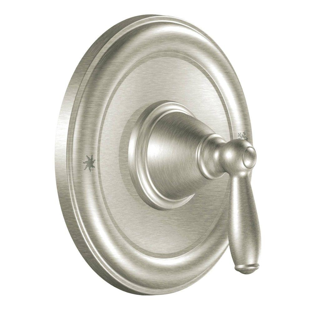 Moen Brantford 1 Handle Posi Temp Valve Trim Kit In Brushed Nickel