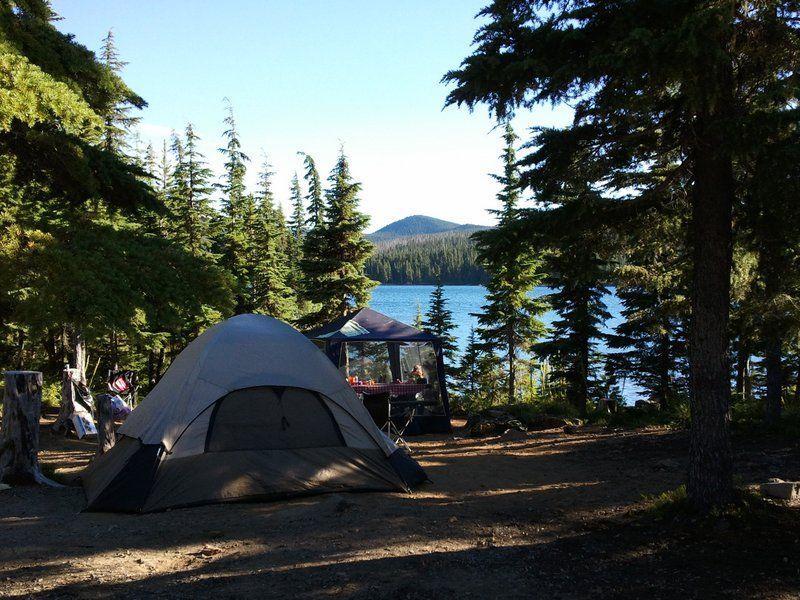 Olallie Lake Lower Lake Campground