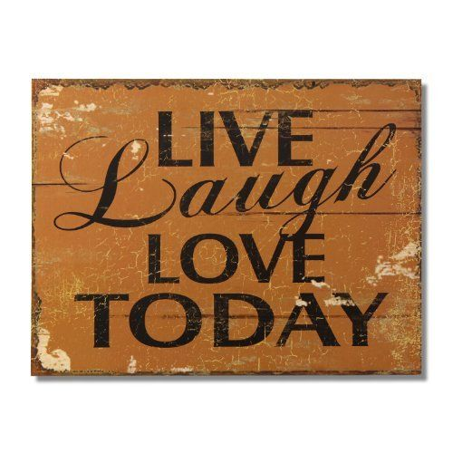 Decorative Signs For The Home Magnificent Adeco Decorative Wood Wall Hanging Sign Plaque 'live Laugh Love Design Inspiration