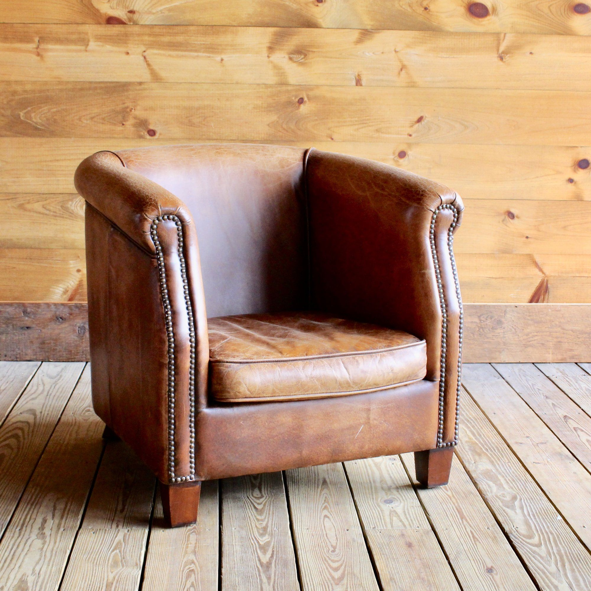 Buffalo Leather Barrel Chair Dartbrook Rustic Goods Adirondacks Barrel Chair Chair Buffalo Leather