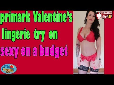fc82ffd1702 🔔🔔Sexy On A Budget Primark Valentine s Lingerie Try On ...
