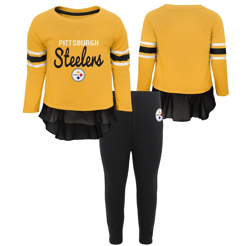 newest d6293 e7c1c Pittsburgh Steelers Girls Preschool Mini Formation Set ...