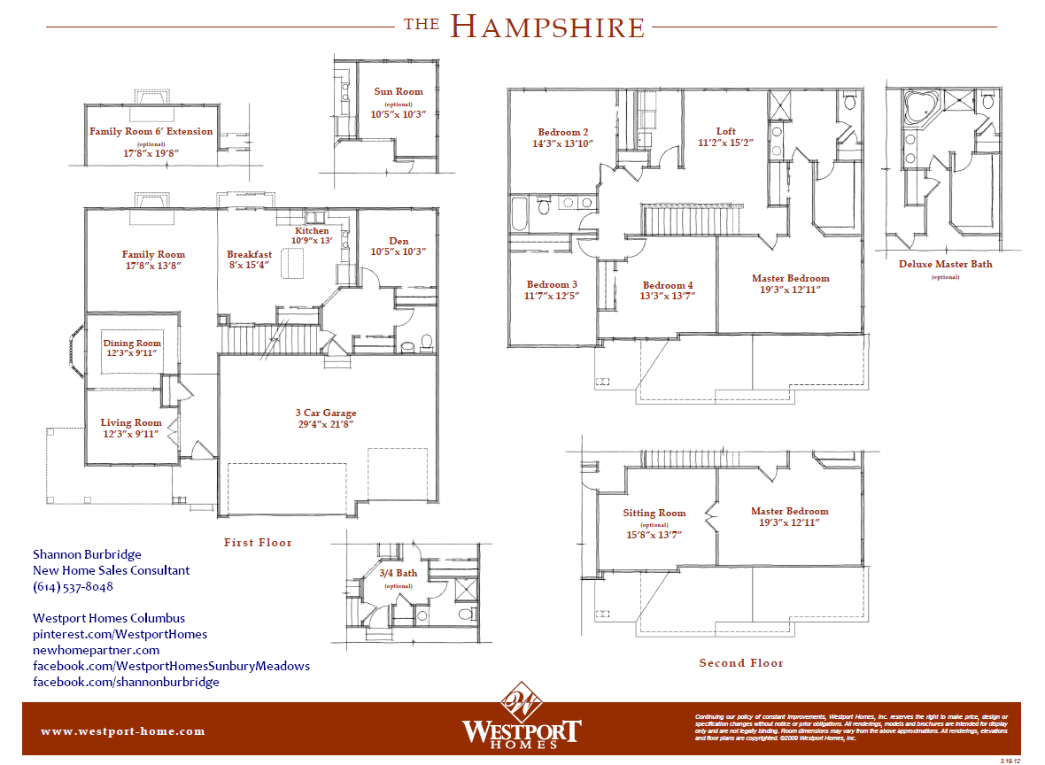The Hampshire By Westport Homes Westport Homes New Homes House Design