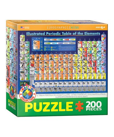 Another great find on #zulily! Illustrated Periodic Table ...