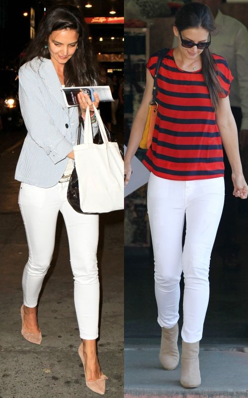 How to Wear White Pants Like Celebrities | Outfits | Pinterest ...