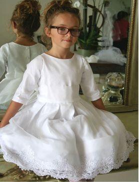 Embellished girls dress
