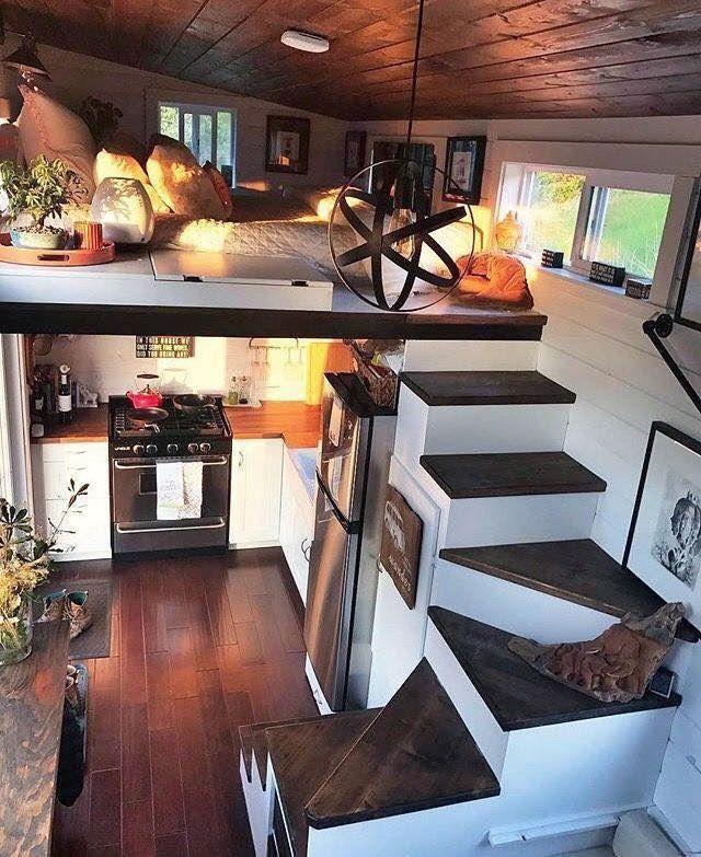 Pin By Katharina Wakolbinger On Ideas Tiny House Decor Tiny House Loft Tiny House Living
