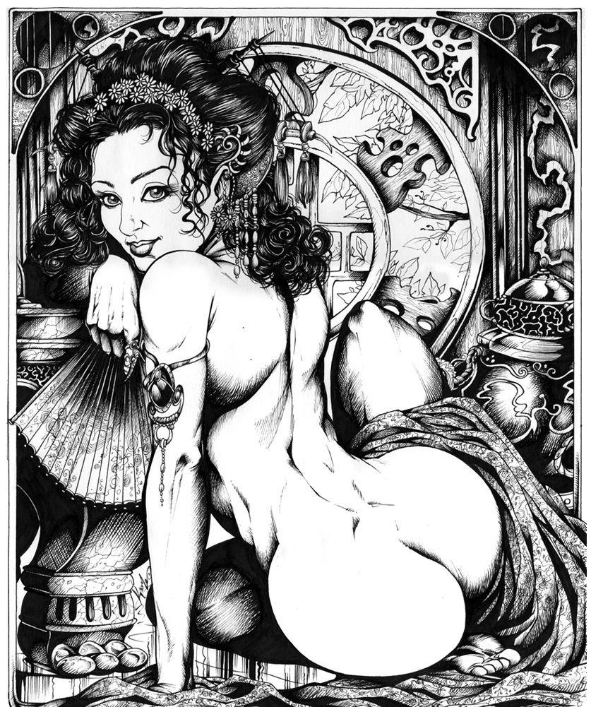 ☆ Geisha :: Artist Mike Krome ☆