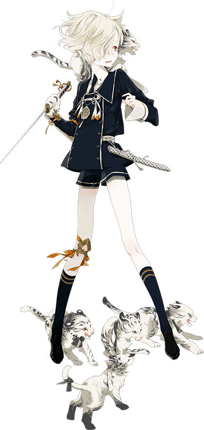 Gokotai Touken Ranbu Game Characters 刀剣乱舞 粟田口 刀剣 乱舞