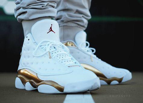 Honneur à la Air Jordan 13 Retro White Gold du pack DMP. D'autres ...