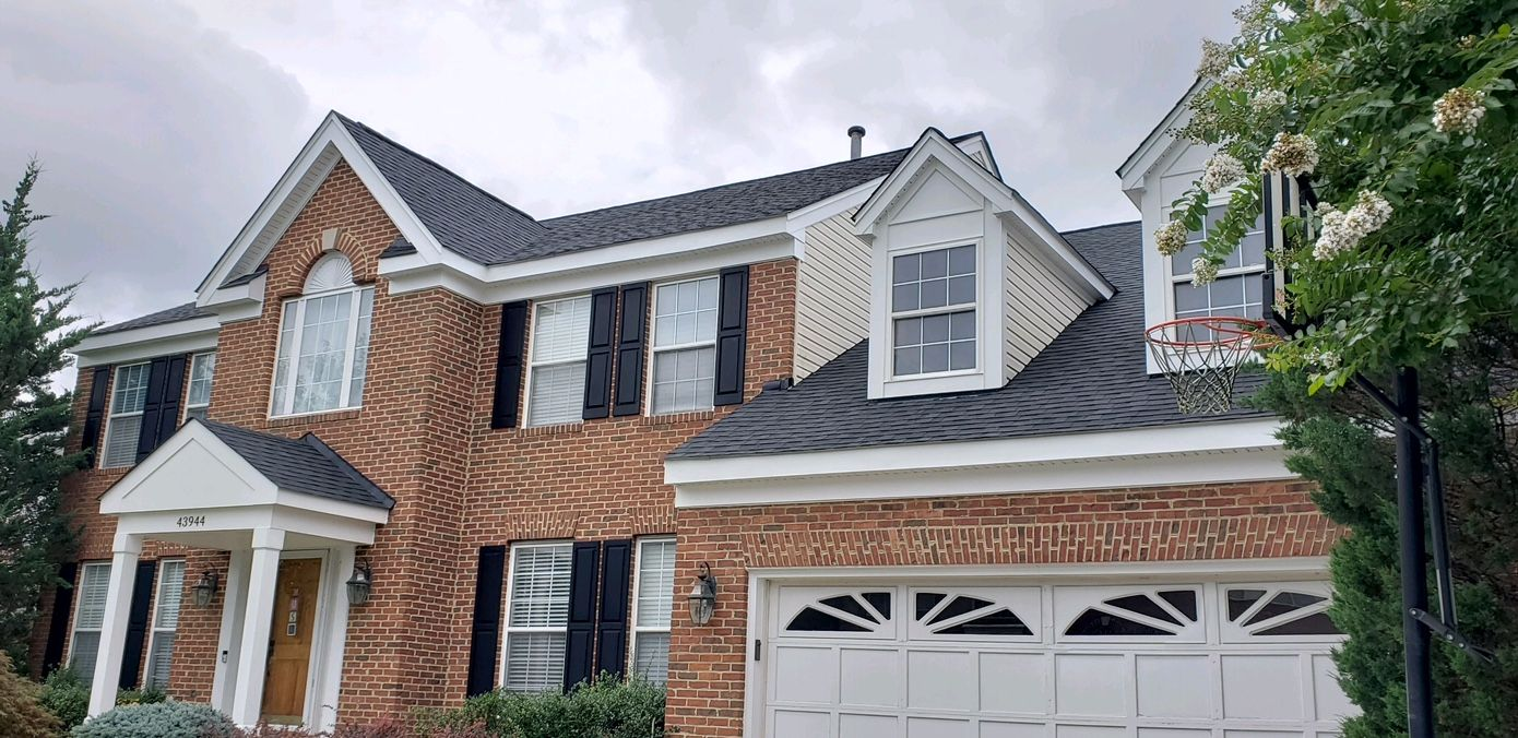 Roofing project completed in Ashburn, VA. Roofing