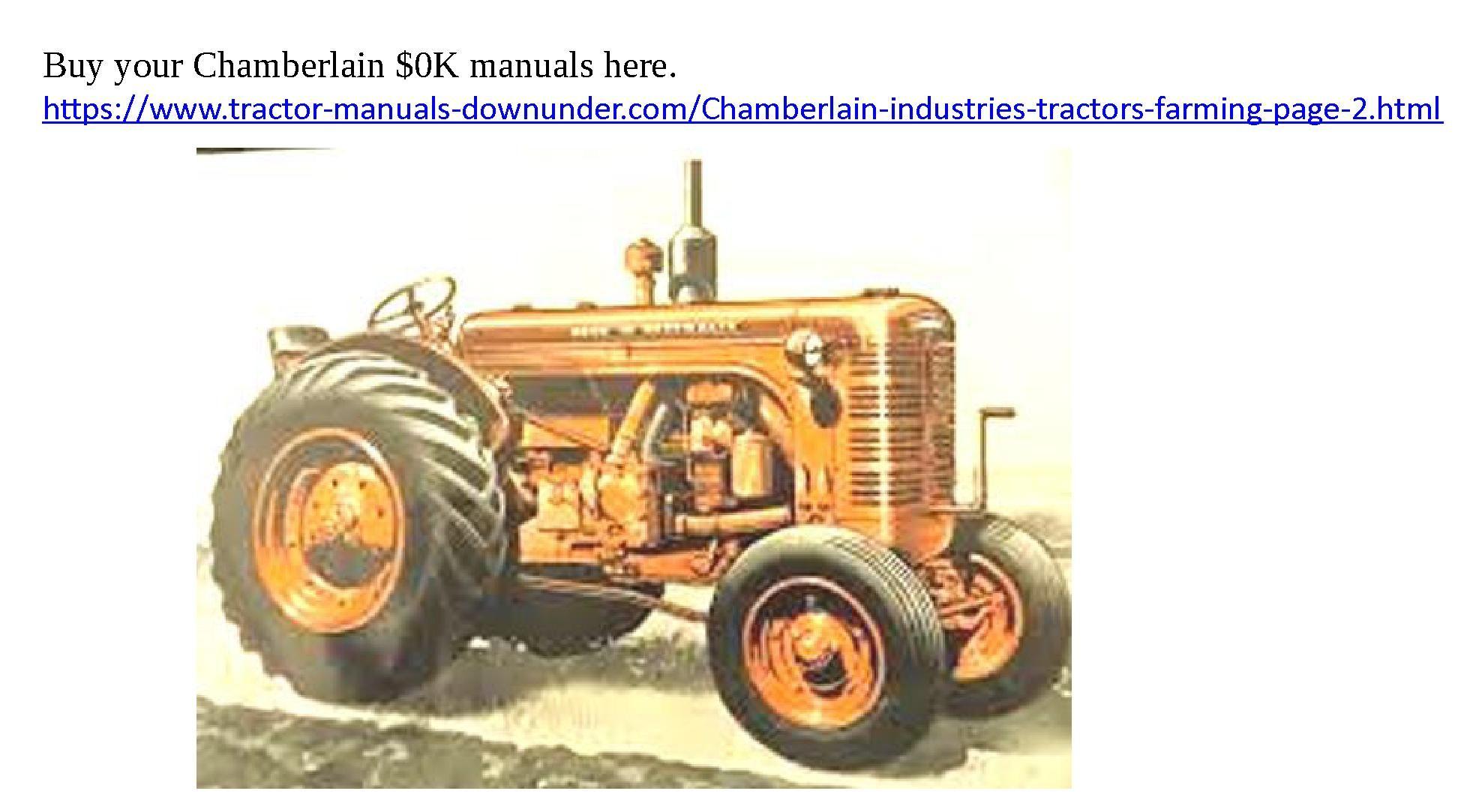40k 40ka etc manuals to download chamberlain tractors pinterest rh pinterest com