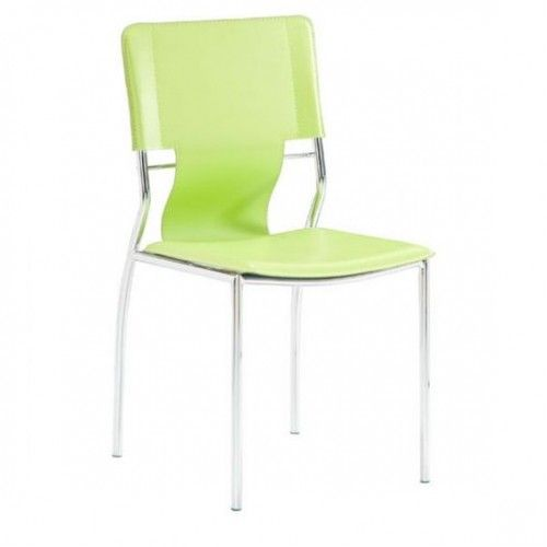 Lime Green Sling Dining Chair Set Of 4 Dining Chairs