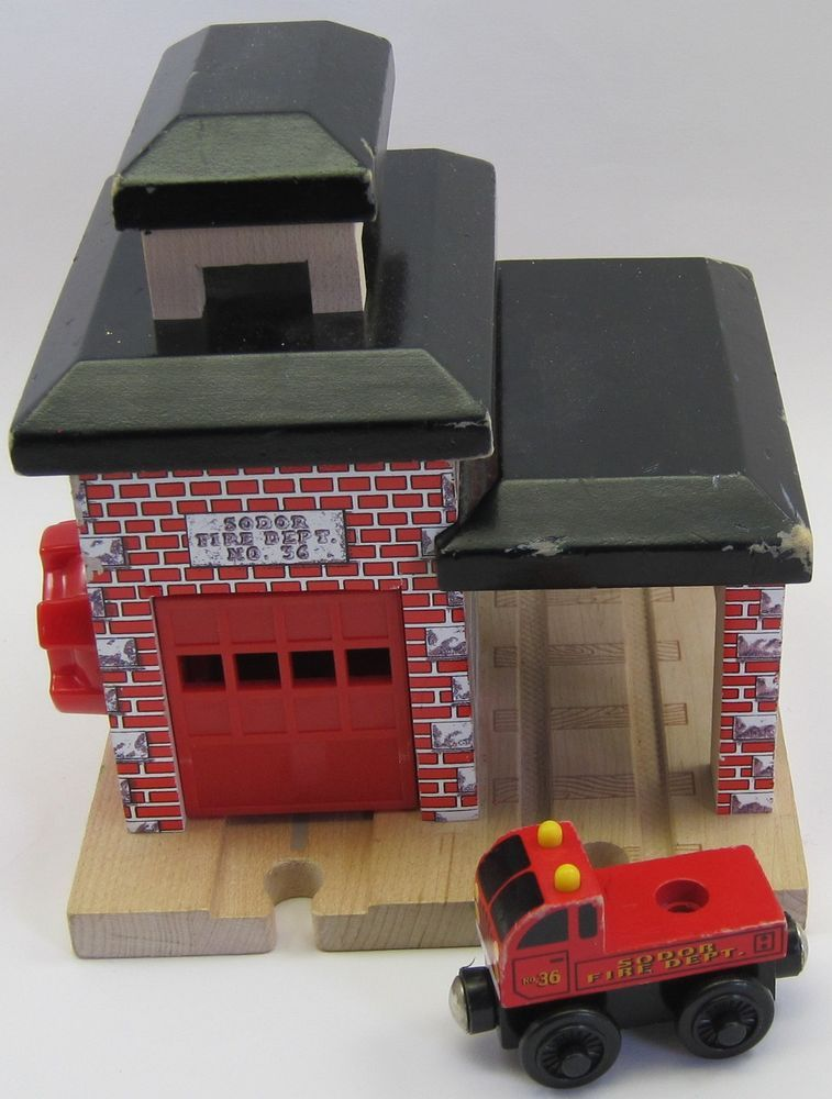 Thomas The Tank Engine Sodor Fire Station Dept No 36 Railway