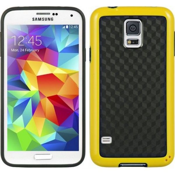 Flex Tpu Patterns Case For Galaxy S5 Sv Yellow Samsung Galaxy S5 Samsung Galaxy Galaxy S5