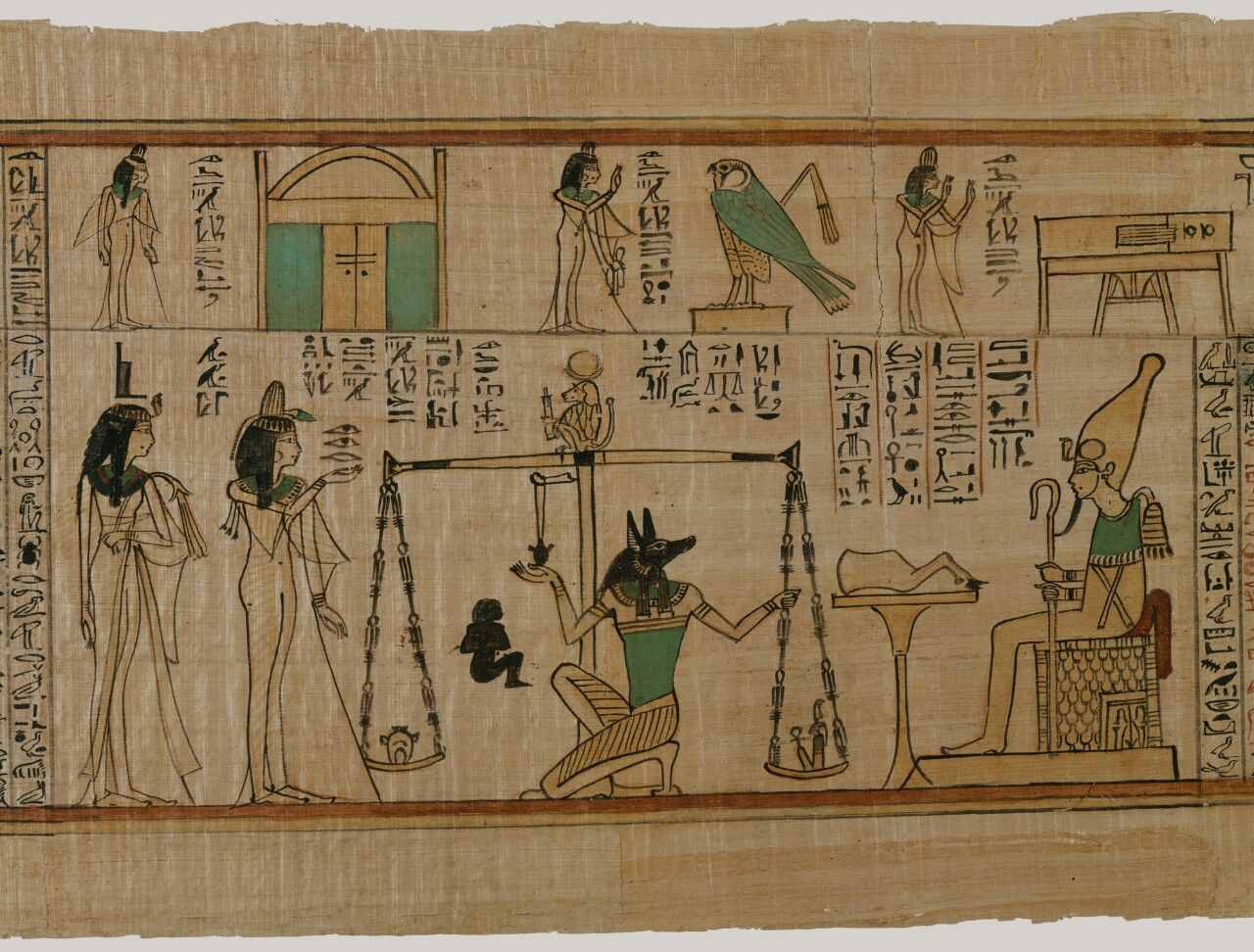 ~The Singer of Amun Nany's Funerary Papyrus. Period: Third Intermediate Period Dynasty: Dynasty 21 Reign: reign of Psusennes I-II Date: ca. 1050 B.C.