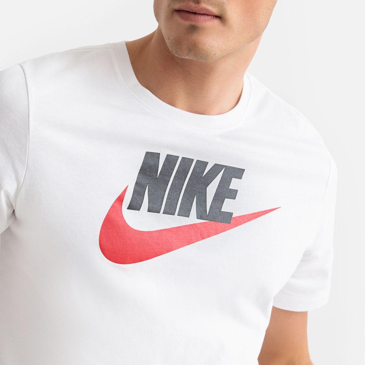 Détails sur Nike NSW Grande Signe Imprimé Chemise Hommes Taille (L)873137 072 Blanc Neuf