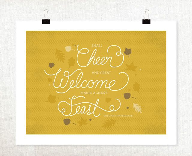 lemon squeezy: Free download: Wall Art and Table Place Cards ...