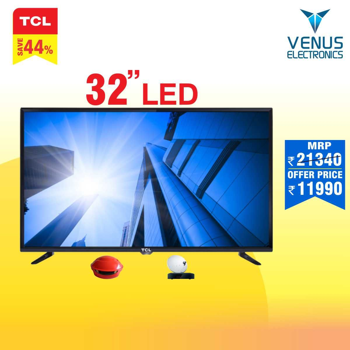 """Tcl led 32"""" hd ready 32g300 New years sales, Led, Home depot"""