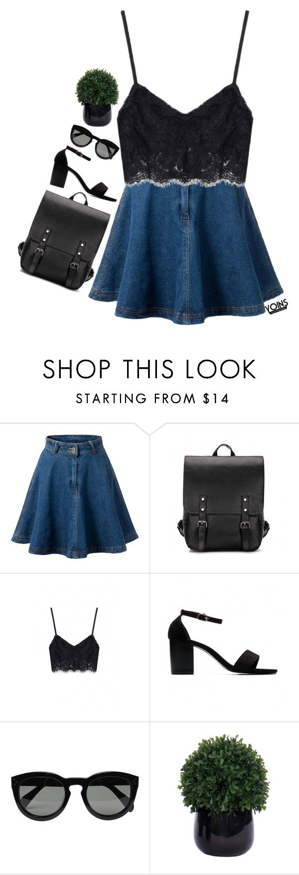 """#Yoins"" by credentovideos ❤ liked on Polyvore featuring CÉLINE and Lux-Art Silks"