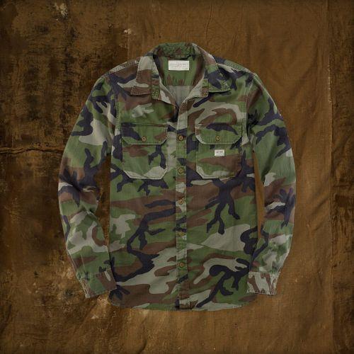 Ralph Lauren Denim Supply Camo Military Inspired Shirt ...