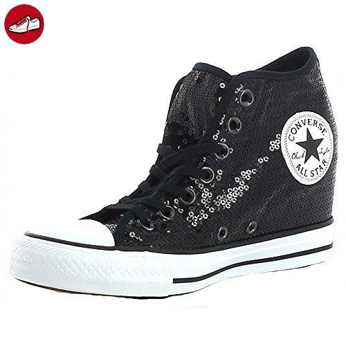 Converse - Converse Ctas Lux Mid Sneaker Schwarz Frau - Schwarz, 37,5 -