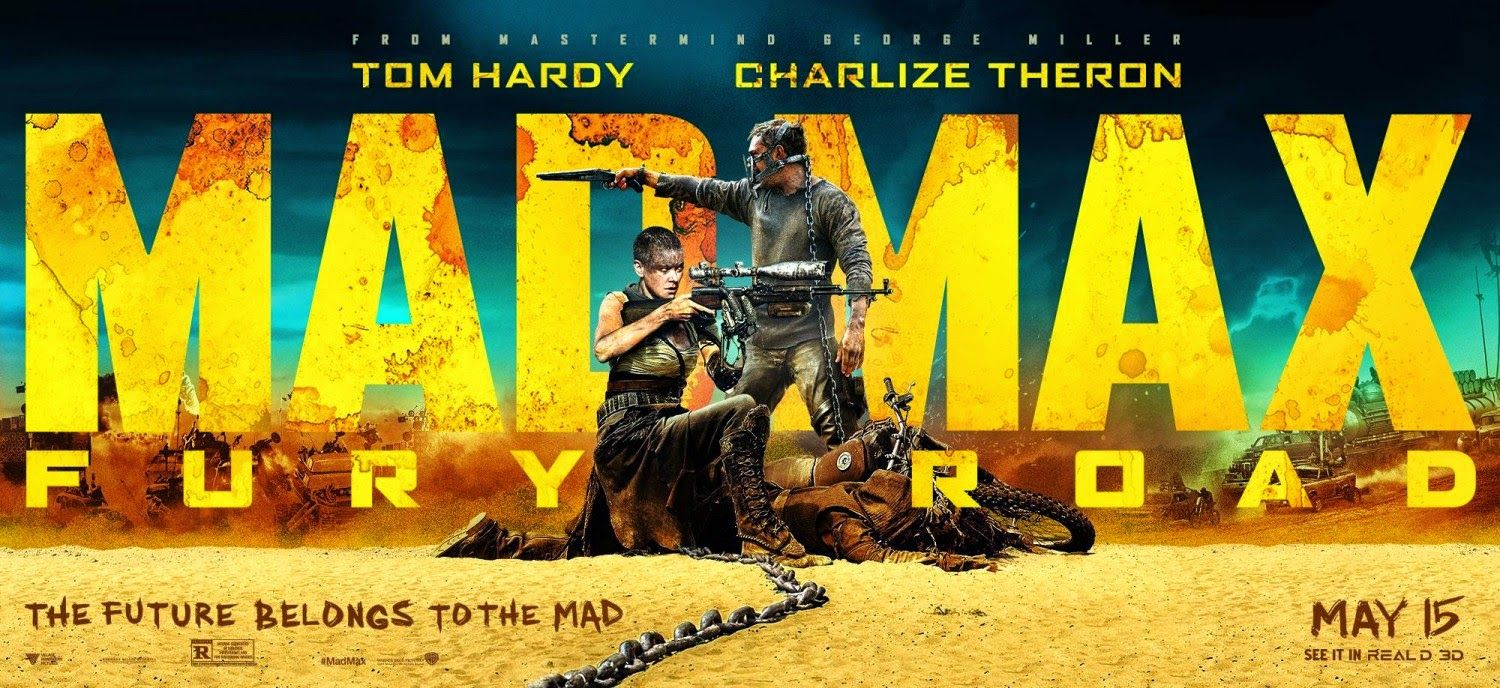 Image result for Mad Max: Fury Road movie poster