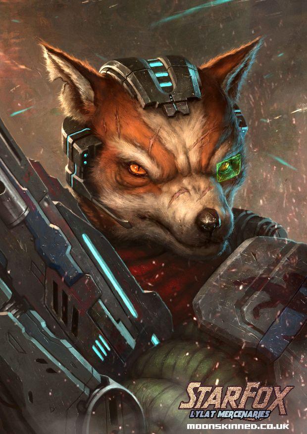 Lylat Mercs Fox Mccloud By Moonskinned Fox Mccloud Star